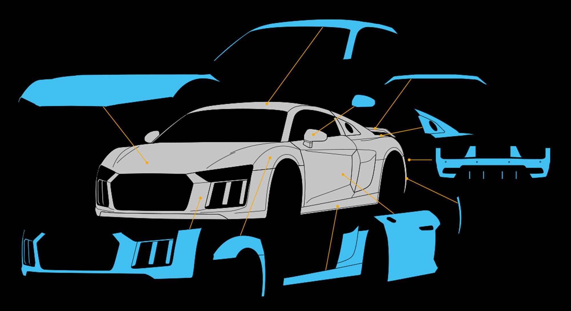 Unfallreparatur Schadenabwicklung Fahrzeugschaden Spot Repair Auto Reparatur